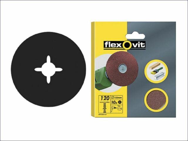 Flexovit - Bohrbare Bohrscheiben, 125 mm, sortiert (10 Stück)