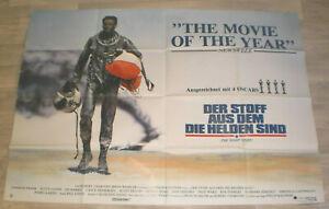 A0 Filmplakat DER SOFF AUS DEM DIE HELDEN SIND,CHARLES F,SCOTT GLENN,ED HARRIS