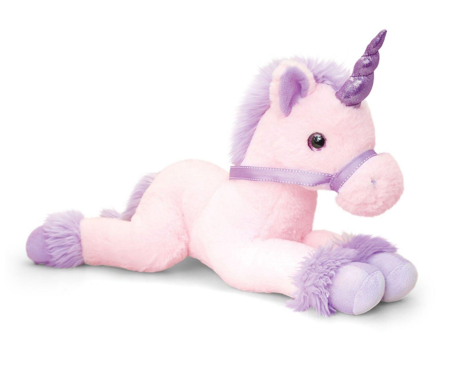 Keel Keel Keel Toys Unicorns 70cm Unicorn 2 Colours Cuddly Soft Toy Teddy SF1563 9df90a