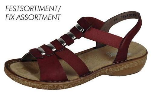 Rieker 62850-35 Ladies Red Summer Sandals