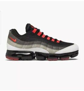 Nike Air Vapormax 95 Cool Grey Hot Red