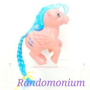 Vintage My Little Pony Firefly Pink Pegasus Glitter Lightning MLP 1983 G1 Hasbro