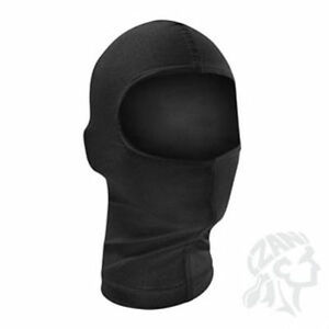 NEW-Solid-Black-Nylon-Balaclava-Face-Mask-Liner-by-Zan-Headgear-Ninja-MOTOCYCLE