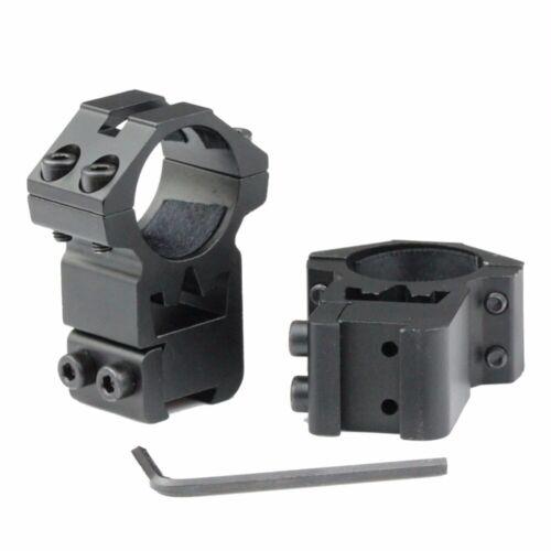 "2pcs hochkarätige 25,4 mm 1/"" Scopes Ringe 11mm Picatinny-Zielfernrohr Montage"