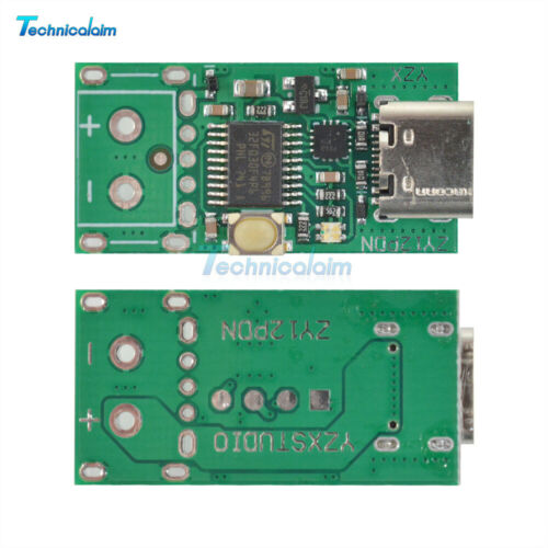 Type-C PD2.0 3.0 to DC Decoy ZY12PDN Fast Charge Trigger Poller Detection Module