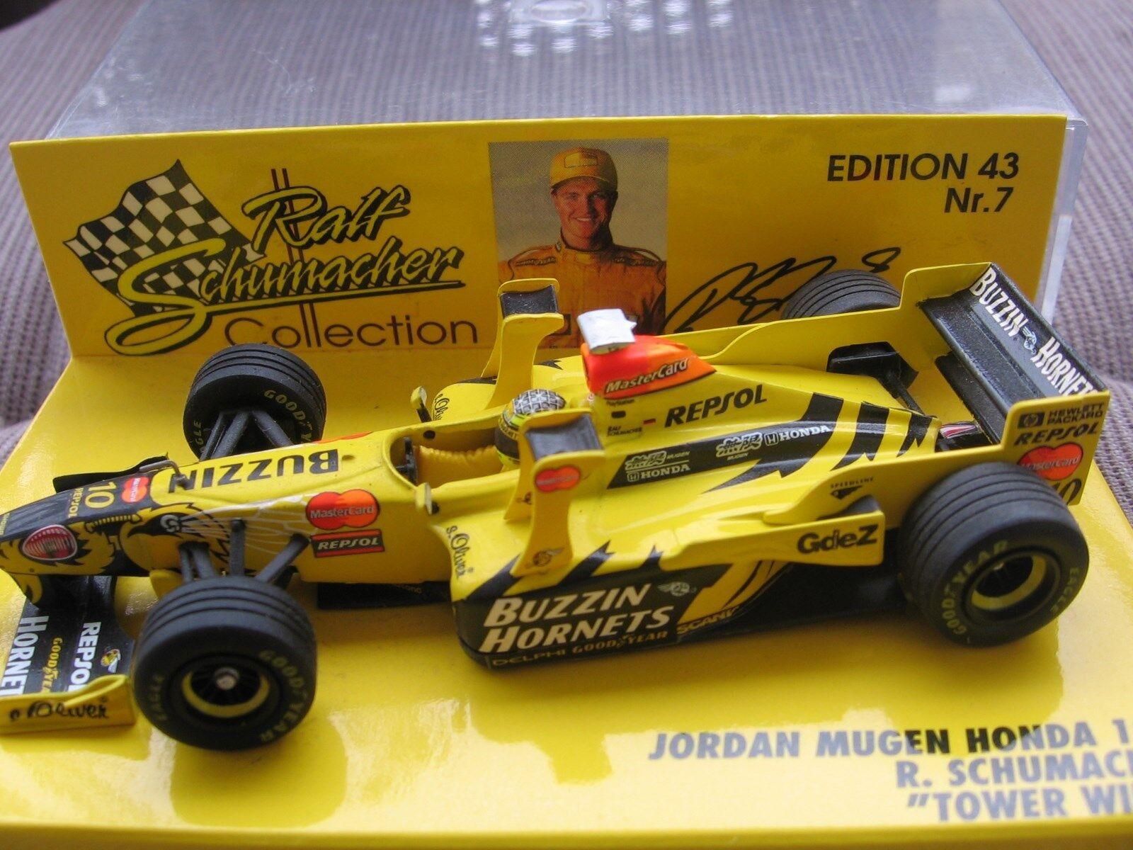 RSC Schumacher F1 Jordan 198 TOWER WING 3.333 Limited 1 43 MINICHAMPS OVP
