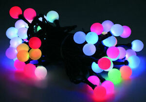 led lichterkette 10 20 oder 30 leds farbwechsel batterie batteriebetrieben ebay. Black Bedroom Furniture Sets. Home Design Ideas