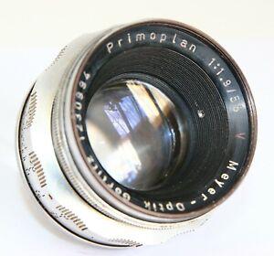 MEYER-OPTIK-GORLITZ-V-PRIMOPLAN-58-1-9-58mm-f1-9-1-9-M42-SCREW-MOUNT-PENTAX-READ