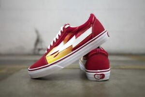 Details about REVENGE x STORM Ian Connor red flame size 5