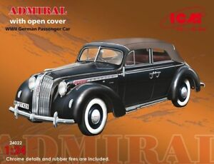 1-24-Opel-Admiral-Kabriolett-ICM-24022-Model-kits