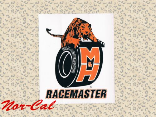 M /& H Racemaster Sticker Decal Auto Racing Hot Rat Rod Car Speed Race Way NEW