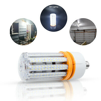60W//200W LED Corn Light Bulbs E39 Mogul Base Garage Warehouse Bay Lighting
