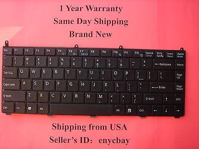 Sony Vaio PCG-7R2L Genuine white US Keyboard PCG-7N1L PCG-7N2L Series NT*