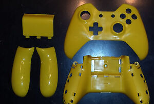 Details about XBOX ONE CONTROLLER SHELL YELLOW FULL SHELL REPLACEMENT  HOUSING XBOX 1 Free Ship
