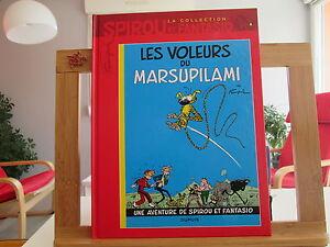 SPIROU-ET-FANTASIO-LA-COLLECTION-TTBE-LES-VOLEURS-DE-MARSUPILAMI