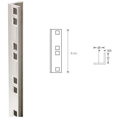 Coppia montante rack in alluminio 2 Unità Flightcase Flight case dj