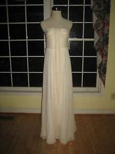 Image Is Loading J Crew Whitney Gown Wedding Dress In Silk