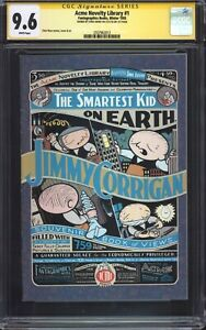 ACME-NOVELTY-LIBRARY-1-1st-Print-CGC-9-6-SS-Signed-by-Chris-Ware-Rare