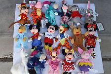 Disney Store Bean Bags Plush Stuffed Characters LOT PICK 5 MICKEY-POOH-TIGGER