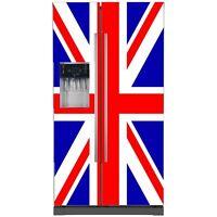 Sticker Frigo Américain Union Jack 715