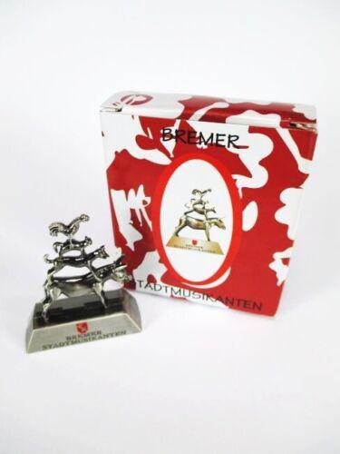 nouveau!!! Germany Brême Bremer musiciens souvenir métal modèle 6 cm