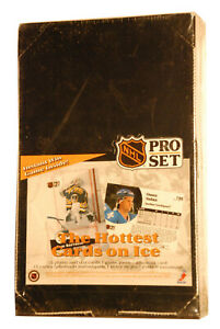 1991-92-Pro-Set-Hockey-Hobby-Factory-Sealed-Box-36-Packs