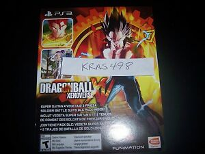 Details about Dragonball Xenoverse XV DLC Day-One CODE Super Saiyan 4 & 2  Frieza Suits PS3