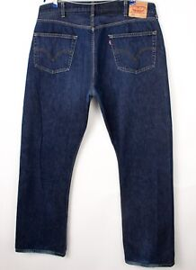 Levi's Strauss & Co Hommes 501 Jeans Jambe Droite Taille W42 L34 BCZ222