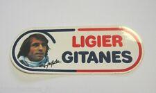 VECCHIO ADESIVO AUTO F1 / Old Sticker LIGIER GITANES J. LAFFITE (cm 16 x 6) b