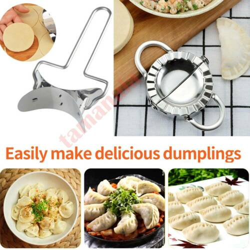 Stainless Steel Dumpling Mould Cutter Ravioli Pie Mold Pastry Tool Dough Maker