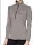 Under-Armour-HeatGear-UA-Tech-1-2-Zip-Womens-LS-Top-1320126-Black-or-Grey-S-XXL thumbnail 6