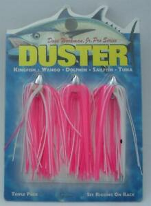 Boone 00123 Dave Workman 1/8 Oz 3 Pk Dusters Pink/White 13861