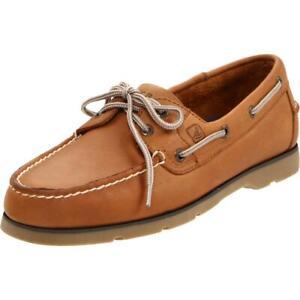 Sperry-Top-Sider-Men-039-s-Leeward-2-Eye-Sahara-Boat-Shoe-NWB