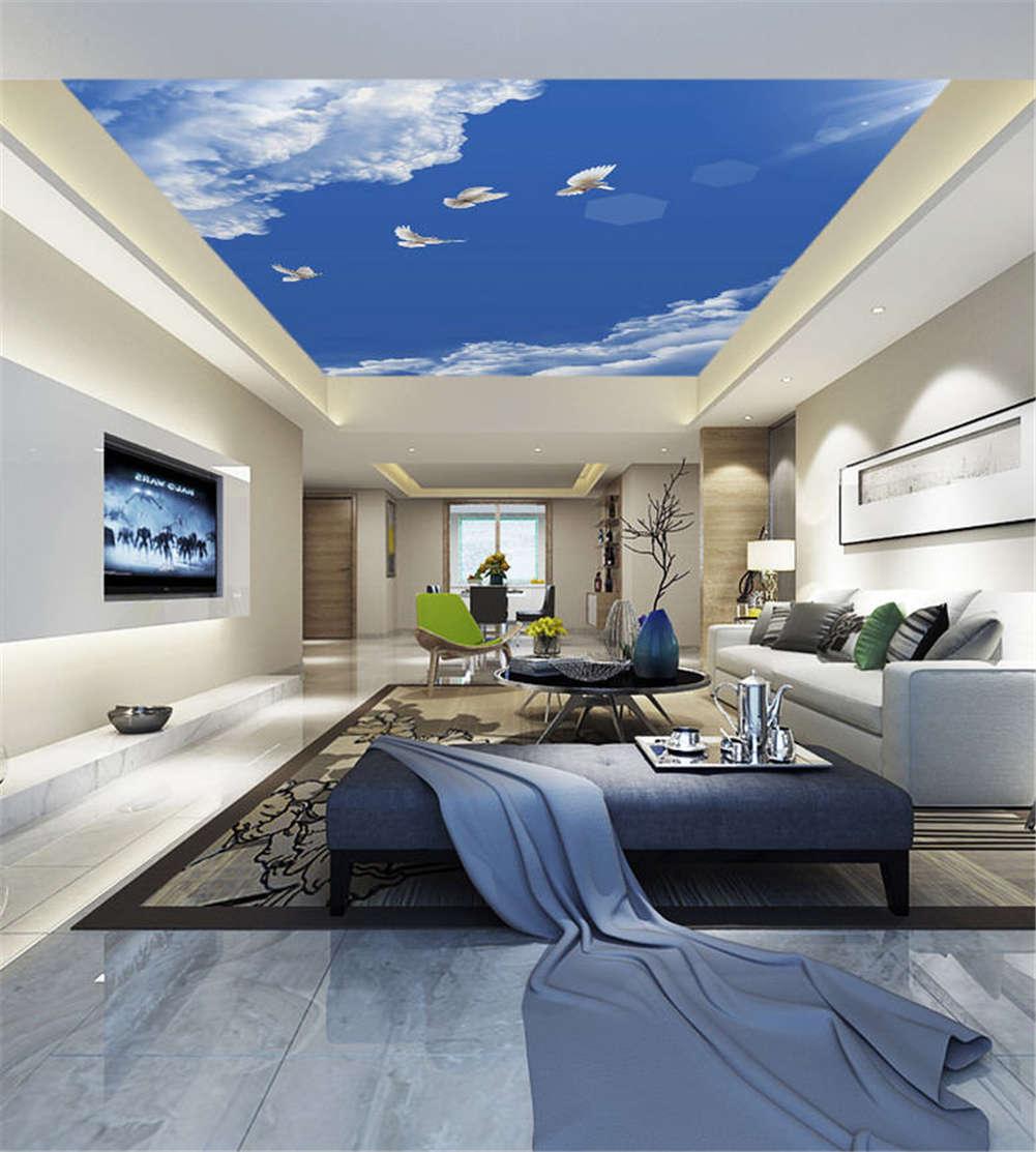 Rummy Spacious Sky 3D Ceiling Mural Full Wall Photo Wallpaper Print Home Decor
