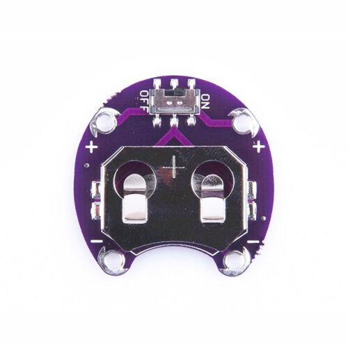 2PCS CR2032 Coin Cell Taste Battery Holders Modul Seerosenblatt Electronics BAF