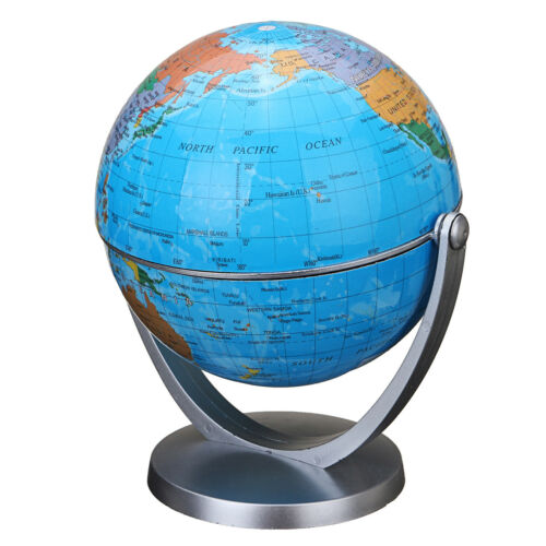 Magnetic Floating Globe Levitation Maglev Levitating World Map LED Decor Educa