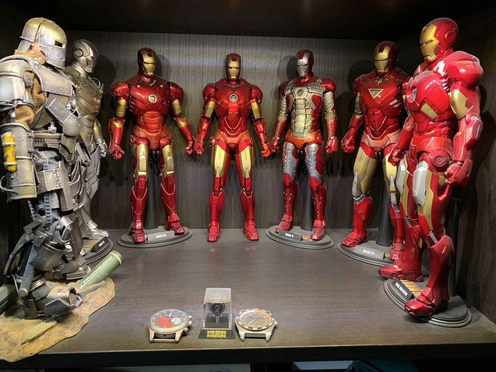 Hot Toys Iron Iron Iron Man Mark 1,2,3,4,5,6,7 Collection 3478fc