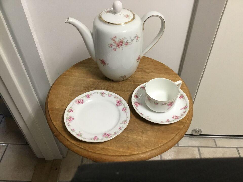Porcelæn, Kaffe stel, Classic bavaria