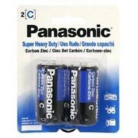 Panasonic Batteries Size C Super Heavy Duty 12 Batteries (6 Pack Of 2)