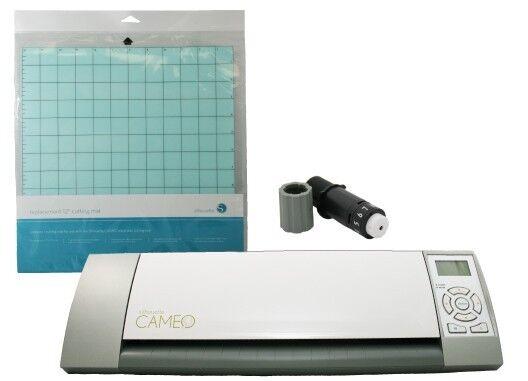 "CAMEO Silhouette Graphtec 12"" Digital Cutting Machine BONUS Blade and 12"" Mat"