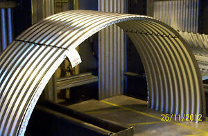 Brand New Galvanised Steel Corrugated Curved Roofing Sheets Pig Arks Ebay