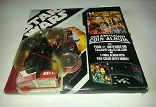 Hasbro Star Wars 30th Anniversary: Coin Album with Darth Vader Action Figure NEW