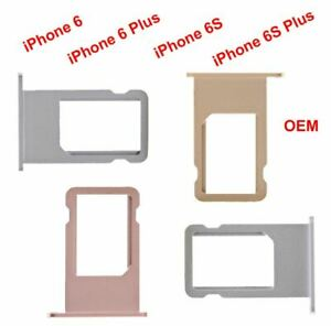 OEM-Sim-Card-Holder-Tray-Metal-Slot-For-iPhone-6G-6-Plus-amp-iPhone-6S-6S-Plus