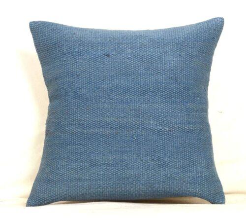 Handwoven Kilim Cushion Cover Vintage Handmade Jute Rug Pillow Cases Rugs 1129