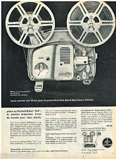 PUBLICITE ADVERTISING 095  1961  PAILLARD & BOLEX  projecteur 18-5
