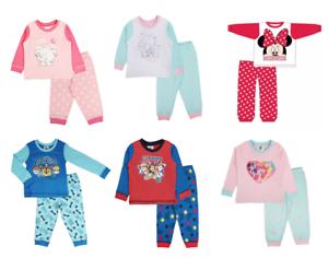 Baby Girls Boys Kids Toddlers Snuggle Fit Pyjamas Infants