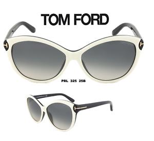 8f9c4f25ec63 Image is loading Tom-Ford-TF325-25B-Telma-Sunglasses-White-Black-