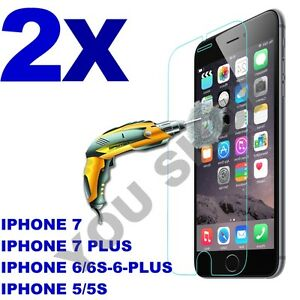 2X-Scratch-Resist-Tempered-Glass-Screen-Protector-for-iPhone-X-8-7-7-plus-6s-6