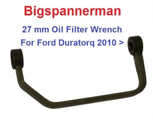 OIL FILTER HOUSING REMOVAL TOOL WRENCH  27mm FORD DURATORQ 2010 onwards