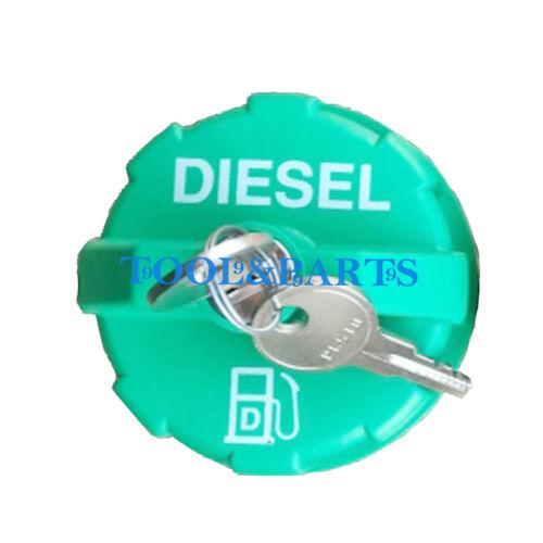 Locking Diesel Fuel Cap for BOBCAT a300 1600 2000 2400 2410 1213 s100 s130 s150